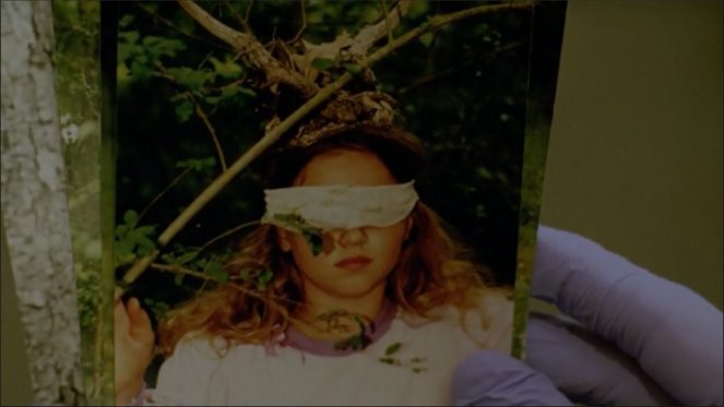 True Detective Bohemian Grove Human Sacrifice 1 Girl With Blindfold Headpiece